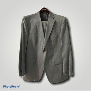 Banana Republic Mens Grey Suit & Pants (Size 44R)